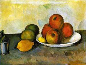 Paul Cézanne, Still Life With Apples, c. 1890